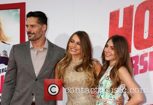 Joe Manganiello, Sofia Vergara and Guest 3