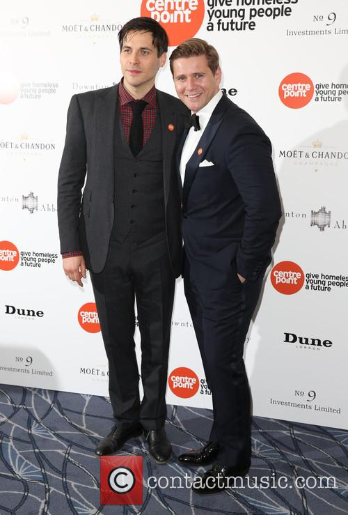 Rob James-collier and Allen Leech 2