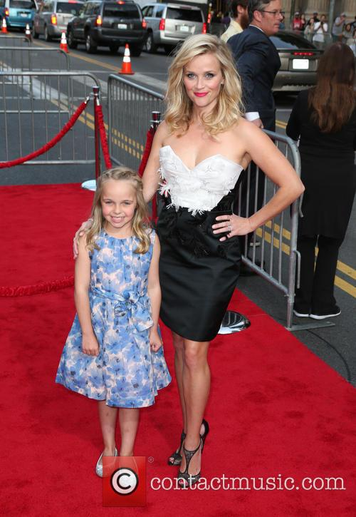 Reese Witherspoon and Abby James