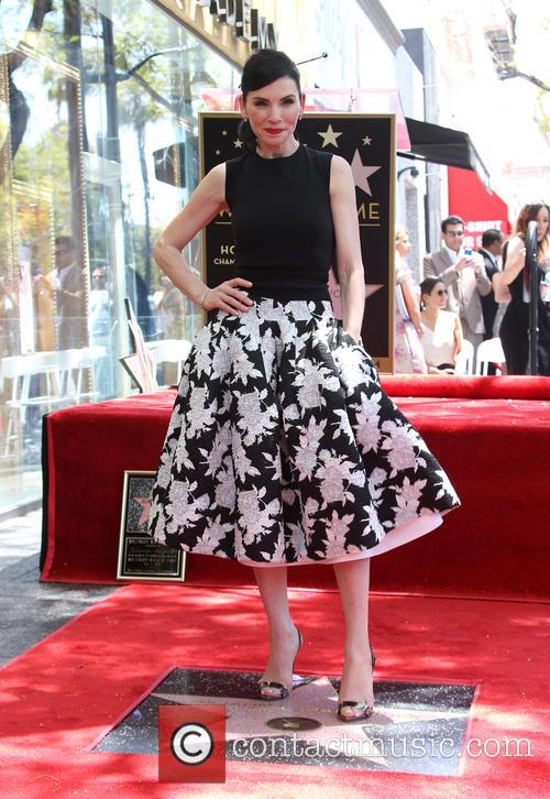 Julianna Margulies receives a star on the Hollywood Walk of Fame