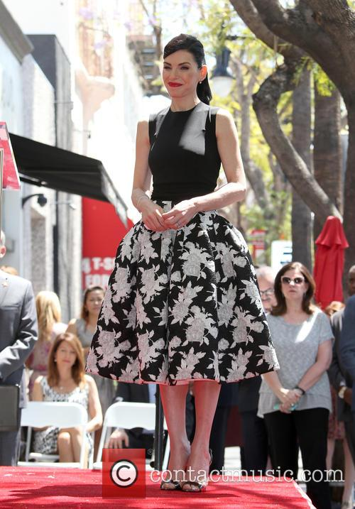 Julianna Margulies honored with a star on the...