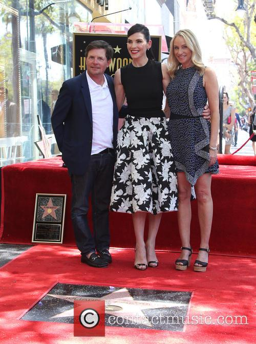 Michael J. Fox, Julianna Margulies and Tracy Pollan 8