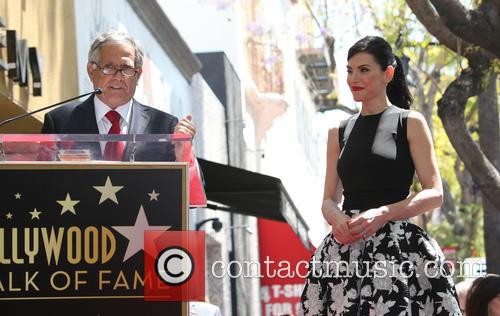 Leslie Moonves and Julianna Margulies 4