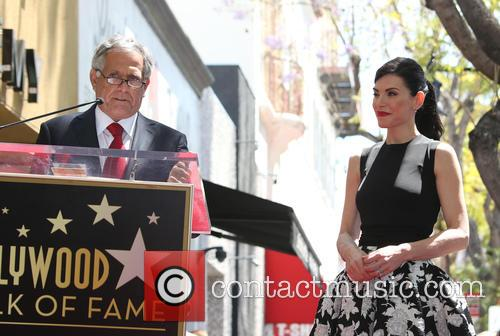 Leslie Moonves and Julianna Margulies 5