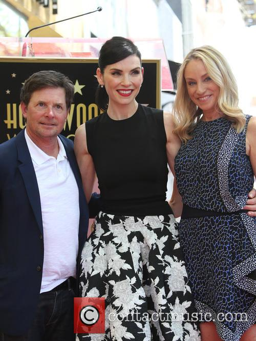 Michael J. Fox, Julianna Margulies and Tracy Pollan 1