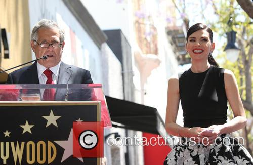 Leslie Moonves and Julianna Margulies 1
