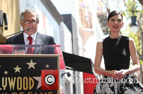 Leslie Moonves and Julianna Margulies 8