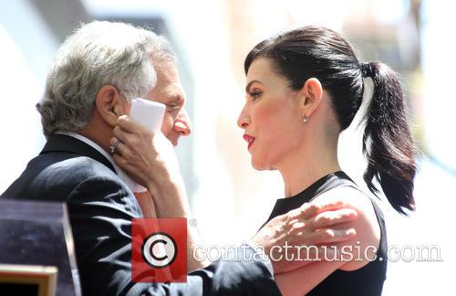Leslie Moonves and Julianna Margulies 9