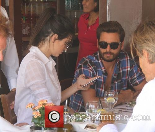 Kendall Jenner and Scott Disick 5