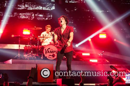 Bradley Simpson and The Vamps 2