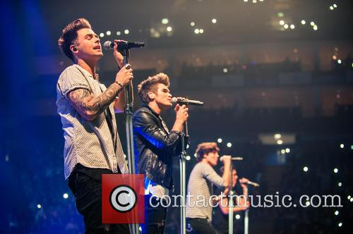 Josh Cuthbert, George Shelley, Jaymi Hensley and Union J 2