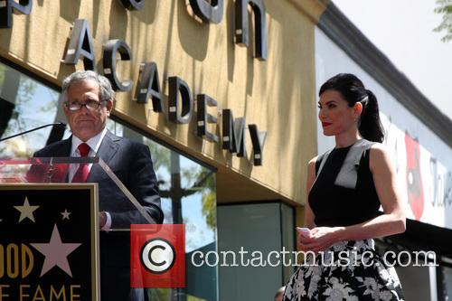 Les Moonves and Julianna Margulies 2
