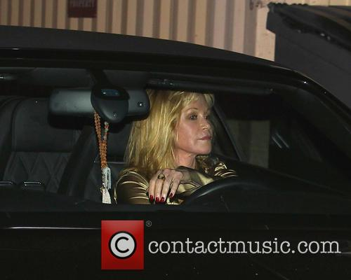 Melanie Griffith spotted leaving Craig's restaurant via the...
