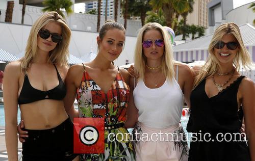 Hailey Clauson, Hannah Davis, Genevieve Morton and Kelly Rohrbach 6