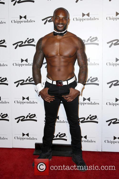 Tyson Beckford joins the Chippendales dancers as a...