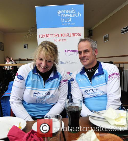 Fern Britton and Phil Vickery 5