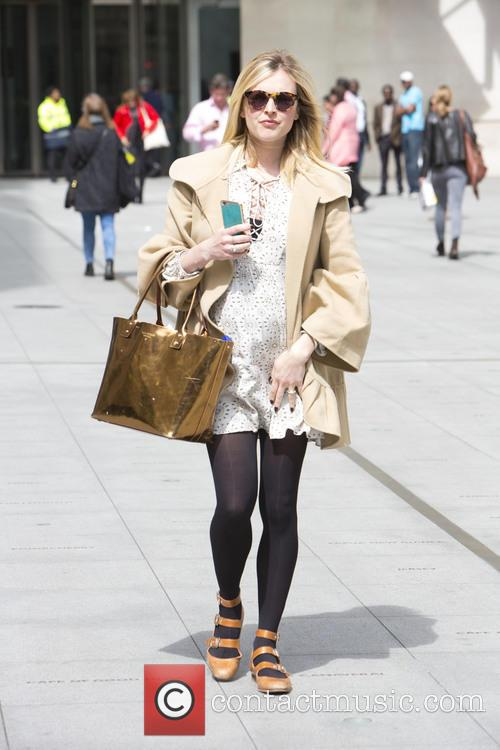 Fearne Cotton Leaves Radio One in Cream Lace...