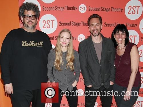 Neil Labute, Amanda Seyfried, Thomas Sadoski and Leigh Silverman 1