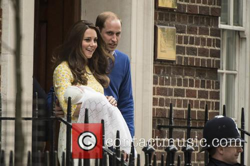 Duke Of Cambridge, Duchess Of Cambridge and Princess Cambridge 2