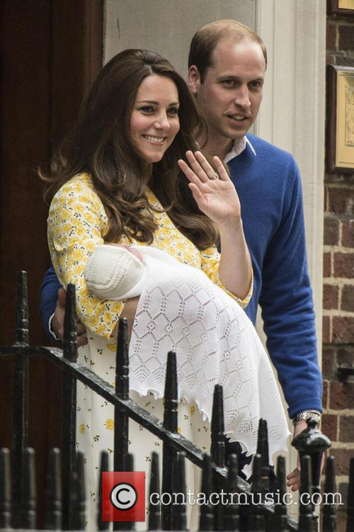 Duke Of Cambridge, Duchess Of Cambridge and Princess Cambridge 3