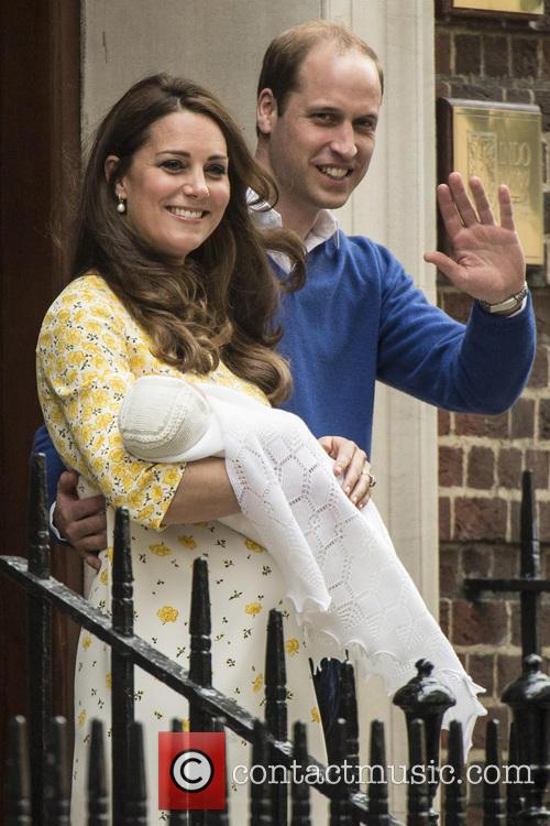 Duke Of Cambridge, Duchess Of Cambridge and Princess Cambridge 5