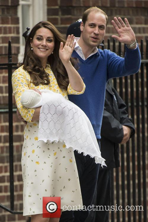 Duke Of Cambridge, Duchess Of Cambridge and Princess Cambridge 6