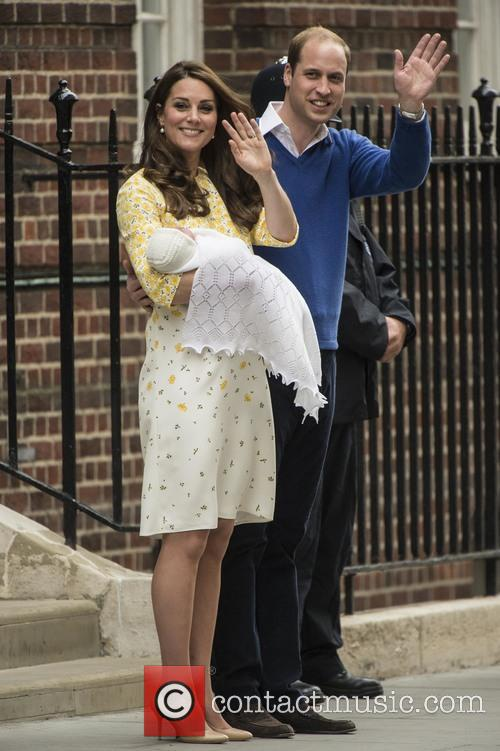 Duke Of Cambridge, Duchess Of Cambridge and Princess Cambridge 7