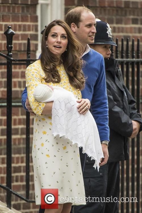 Duke Of Cambridge, Duchess Of Cambridge and Princess Cambridge 9