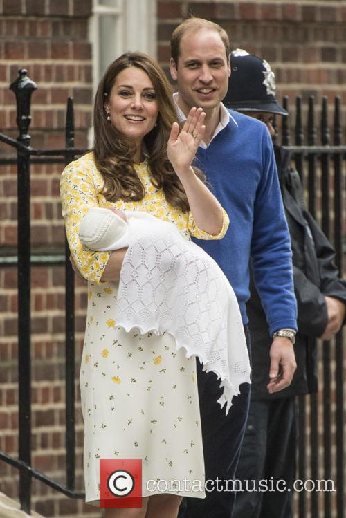 Duke Of Cambridge, Duchess Of Cambridge and Princess Cambridge 10