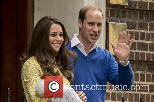 Duke Of Cambridge, Duchess Of Cambridge and Princess Cambridge 11