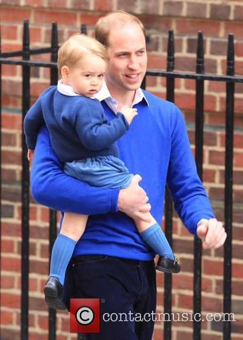 Prince William, Duke Of Cambridge and Prince George 2