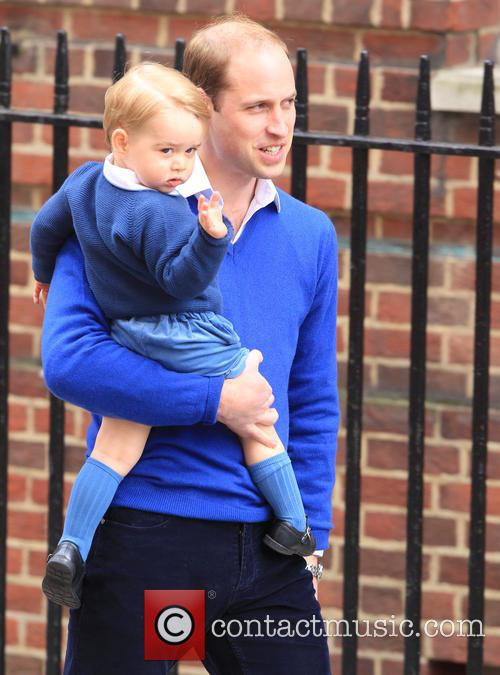 Prince William, Duke Of Cambridge and Prince George 3