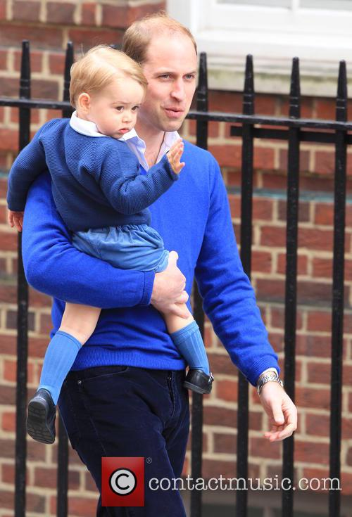 Prince William, Duke Of Cambridge and Prince George 4