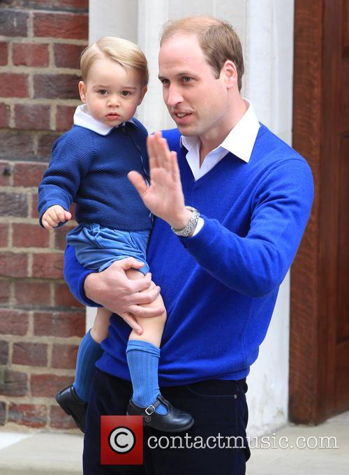 Prince William, Duke Of Cambridge and Prince George 5