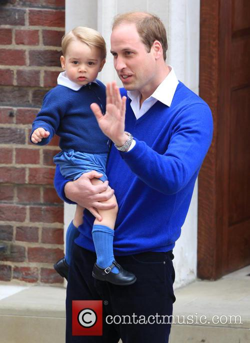 Prince William, Duke Of Cambridge and Prince George 6
