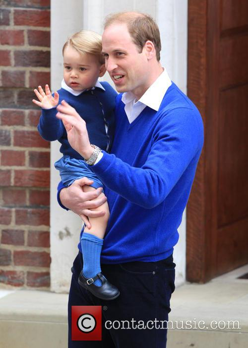 Prince William, Duke Of Cambridge and Prince George 7