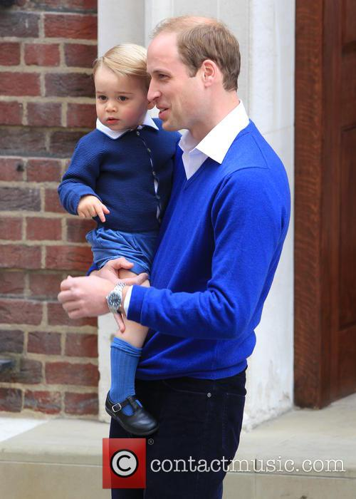 Prince William, Duke Of Cambridge and Prince George 8