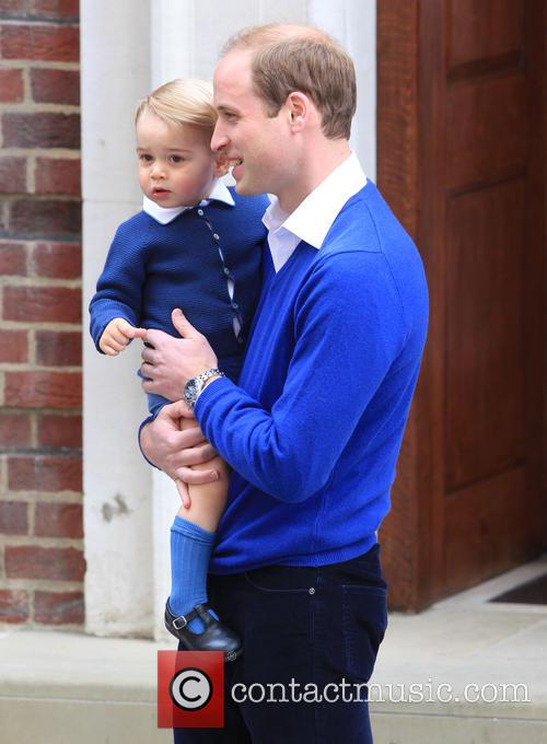Prince William, Duke Of Cambridge and Prince George 9