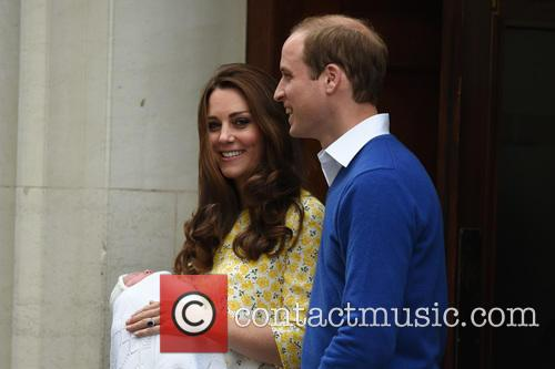 The Duke Of Cambridge, Prince William, The Duchess Of Cambridge and Princess 2