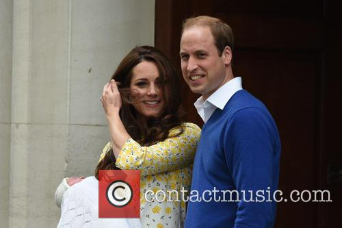 The Duke Of Cambridge, Prince William, The Duchess Of Cambridge and Princess 3