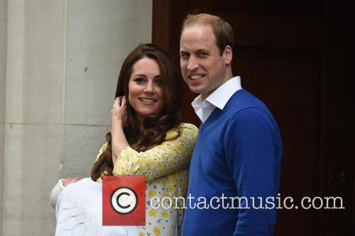 The Duke Of Cambridge, Prince William, The Duchess Of Cambridge and Princess 1