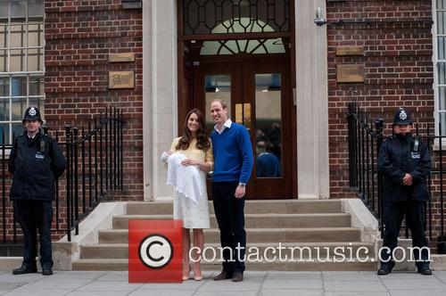 Prince William, The Duke Of Cambridge, The Duchess Of Cambridge and Princess 10