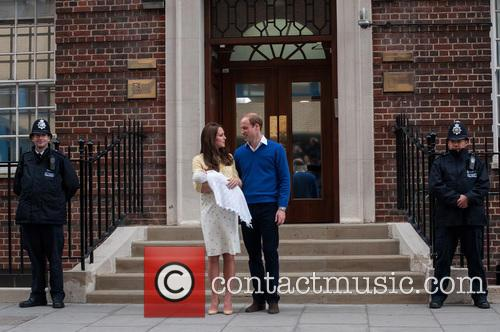 Prince William, The Duke Of Cambridge, The Duchess Of Cambridge and Princess 11