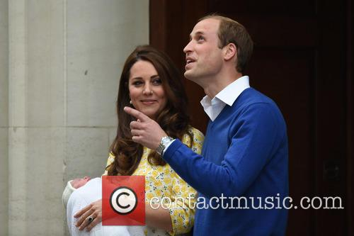 Prince William, The Duke Of Cambridge, The Duchess Of Cambridge and Princess 1