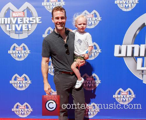 James Van Der Beek and His Son 1