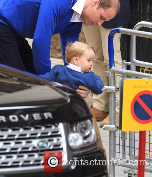 Prince William, Duke Of Cambridge and Prince George 11