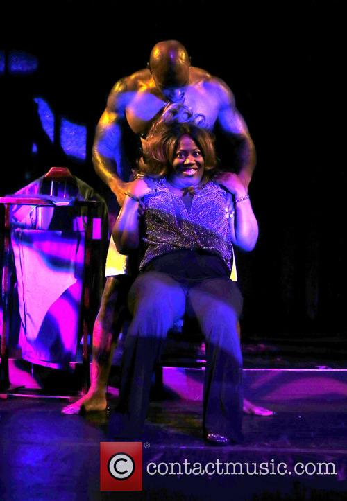 Sheryl Underwood and Tyson Beckford 8