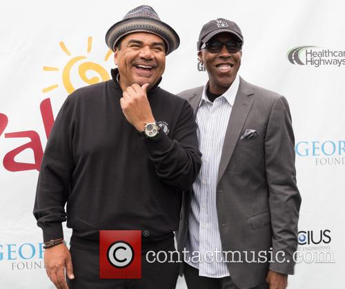 George Lopez and Arsenio Hall 11