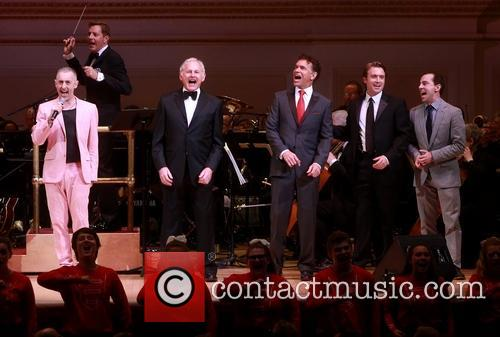 Alan Cumming, Victor Garber, Brian Stokes Mitchell, James Snyder and Rob Mcclure 11