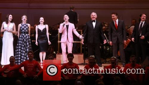 Laura Benanti, Kelli O'hara, Bebe Neuwirth, Alan Cumming, Victor Garber, Brian Stokes Mitchell and James Snyder 5